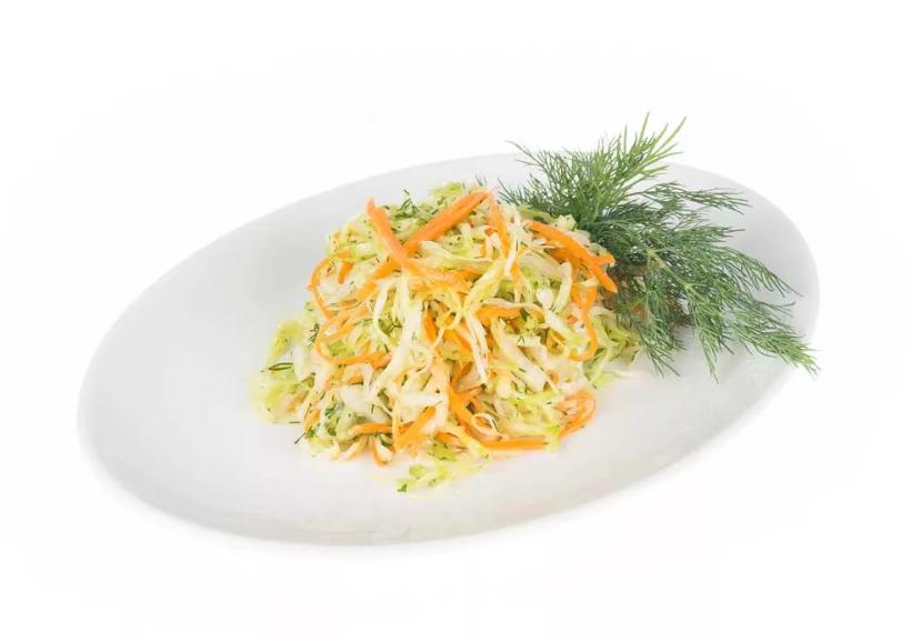 Рецепт суточной капусты с уксусом как в столовой